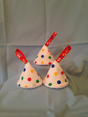 baby boy nappy pee pee teepee (set of 3) Baby Shower/Gift Idea (White Spotty)