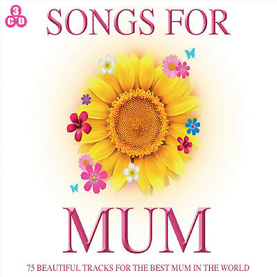 Songs For Mum - 3 CD SET - BRAND NEW - Mom Birthday Gift Mothers Day