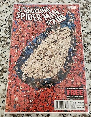 Amazing Spider-Man #700 Death Of Peter Parker High Grade NM+ Last Issue Key Book