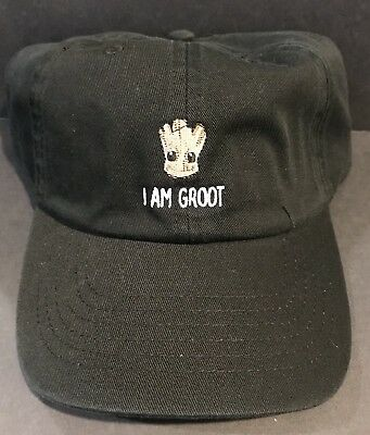 Disney Parks I Am Groot Baseball Cap For Adults Nwt
