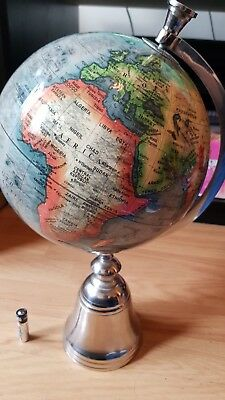 Ornamental Globe with silver style base