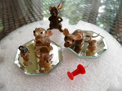 Miniature Mice Collection Hagen Renaker ?? or other maker?? 6 pieces total