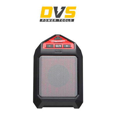Milwaukee M12 JSSP-0 12v 5W Jobsite Bluetooth Speaker Bare Unit 4933448380