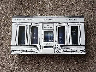 Jack Wills Men's Superior Quality Bathing Gift Set (Brand New)