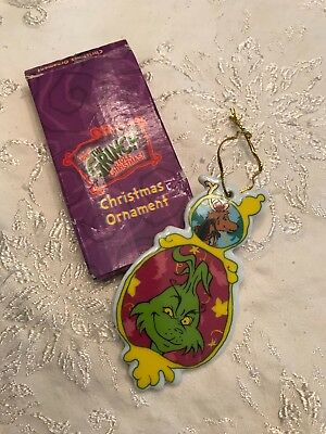 The Grinch Christmas Porcelain Ornament