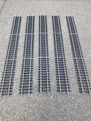 5 g scale train tracks stainless good condition aristocraft