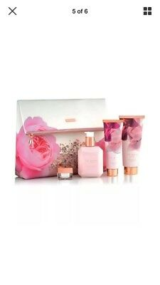 NEW Ted Baker Blush Bouquet Cosmetic Gift Bag With Toiletries