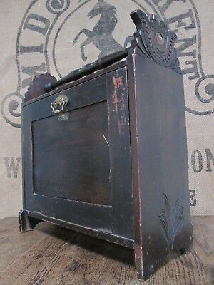 Antique Edwardian/Victorian Portable Filing M.Robinsons Improved Music Cabinet