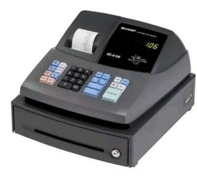 Sharp XE-A106 Electric Cash Register w/ Key