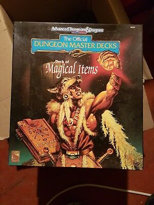AD&D Deck of MAGICAL ITEMS - Official Dungeon Master Decks