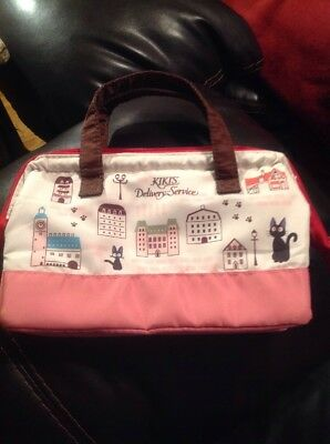 Ghibli Kiki's Delivery Svc Thermal Cooler Lunch box Skater Bag Townscape Bento