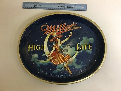Old Miller High Life Beer Tray