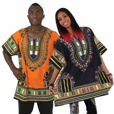 King-Size Traditional Dashiki For Men and Women