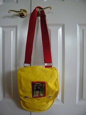 Curious George Yellow Monkey Messenger Cross Body Bag Tote