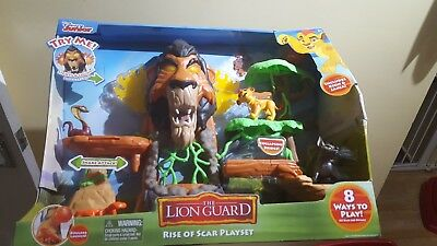 Disney Junior's The Rise of Scar Lion Guard Playset  Kion & Janja NEW age 3+