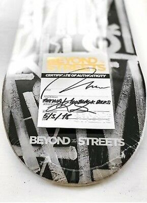 Beyond the Streets Retna Skateboard Deck Sold Out of a 100 w/COA