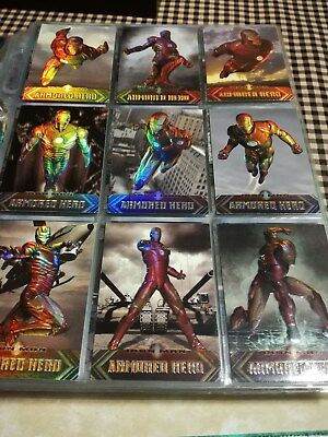 IRON MAN Movie ARMORED HERO Insert H1 to H9