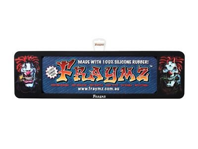 Fraymz Number Plate Frames - Evil / Scary Clowns