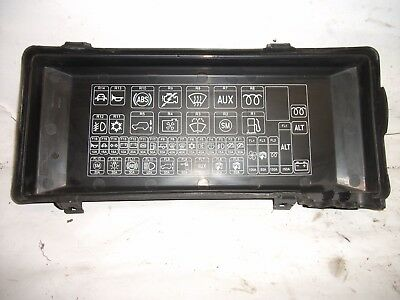land rover discovery 2 td5 engine bay fuse box cover (98-04)
