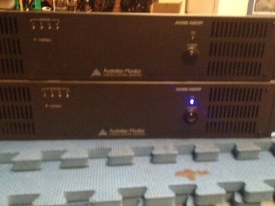 AUSTRALIAN MONITOR AMIS480P Power Amps as is price