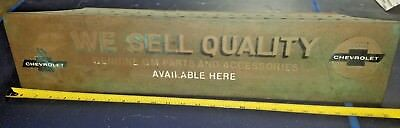 Vintage CHEVROLET GM ACCESSORIES DEALERSHIP DEALER Master Catalog Rack 50's 60's