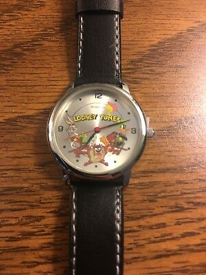 """BRAND NEW """"Looney Tunes Back in Action"""" Vintige Armitron Watch W/Tin and Box"""