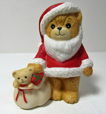 Lucy & Me ~ SANTA CLAUS WITH BAG OF TOYS ~ Enesco Porcelain Figurine