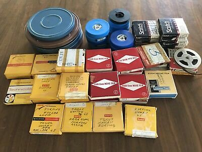 Military Family Lot 8mm Home Movies & Audio Reel Tapes Vintage 1950s - 1970s