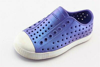 Native Purple Synthetic Casual Shoes Toddler Girls Sz 9
