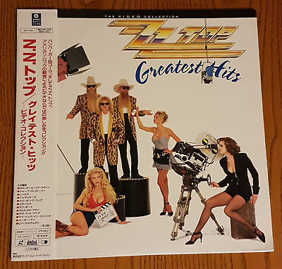 Zz Top - Video Collection 1992 Japan Print Obi Legs Viva Las Vegas Ntsc