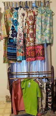 Vintage 11 Piece 1960's-70's Women's Clothing New Old Stock W/Tags Hippy Retro
