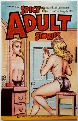 Spicy Adult Stories Comic Book #2 April 1991 Hugh Fleming