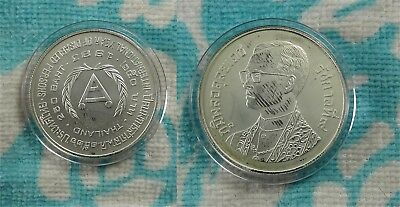 Thailand 1983 International Year of Disabled IYDP 250 Baht 925 Fine Silver Coin