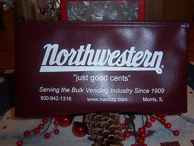 N.O.S. Northwestern bank bags from Morris, ILLINOIS