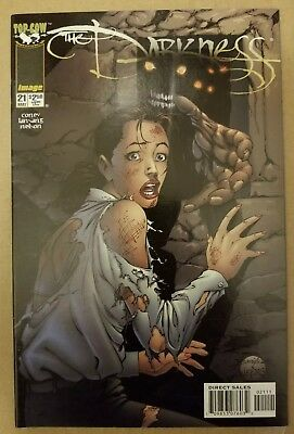 the darkness 2 comic lot 12 and 21 image comics top cow B4