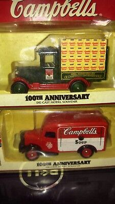 Lot Of 3 Campbell Soup Trucks