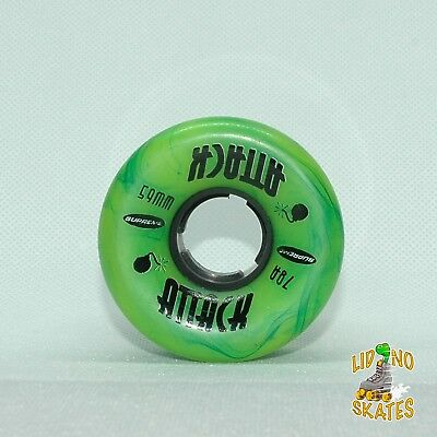 Supreme ATTACK 79A 59mm Quad Roller Skate Wheel