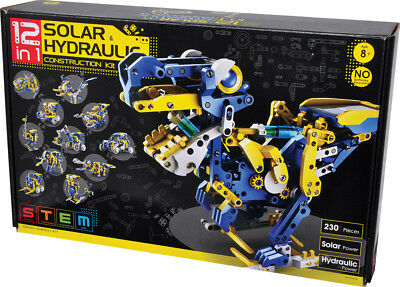 Transform 12 different forms 12-in-1 Solar Hydraulic Construction Kit K1149