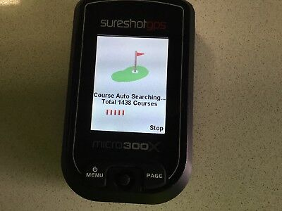 Sure shot golf gps
