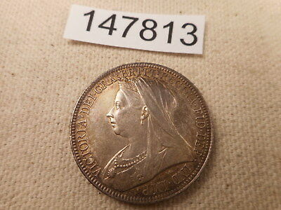 1896 Great Britain Florin Very Nice Collector Higher Grade Coin - Raw - # 147813