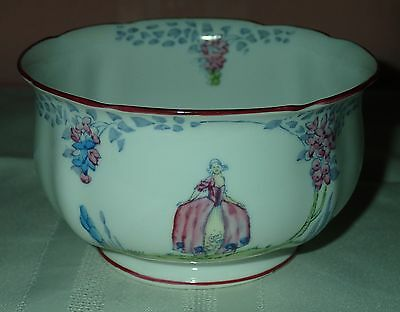 "Royal Standard bone china ""Crinoline Lady"" sugar bowl-Excellent condition!"