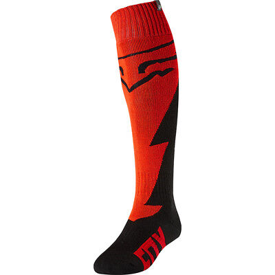 Fox 2018 Fri Mastar Red Thick Socks MX Motocross - Red/Black