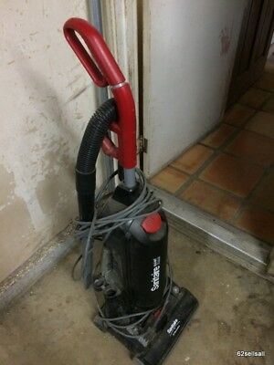 Commercial Sanitaire upright vacuum cleaner, cannister type. Pick up only!