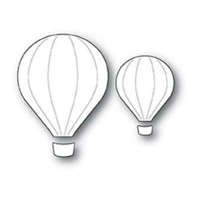 NEW Poppystamps Dies - Hot Air Balloons