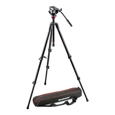Manfrotto Pro Video tripod and Fluid Head