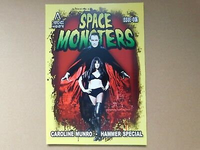 Space Monsters #6, Caroline Munro - Hammer Special. New Free Uk P+P