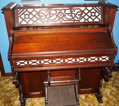 Antique Pump Organ, Clough & Warren Organ Company, circa 1890's in working order