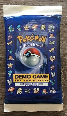 Pokemon-Sammelkarten OVP Booster 2 Player Demo Game Pack Sealed Ultra Rare