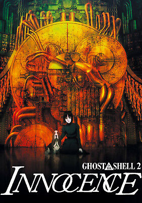 35mm GHOST IN THE SHELL 2 FILM/MOVIE/PELLICOLA/FLAT/TRAILER/TEASER/BANDE ANIME