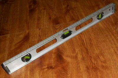 """Vintage Unbranded Light Weight Aluminum Level 23-1/4"""" Length Super Fast Shipping"""